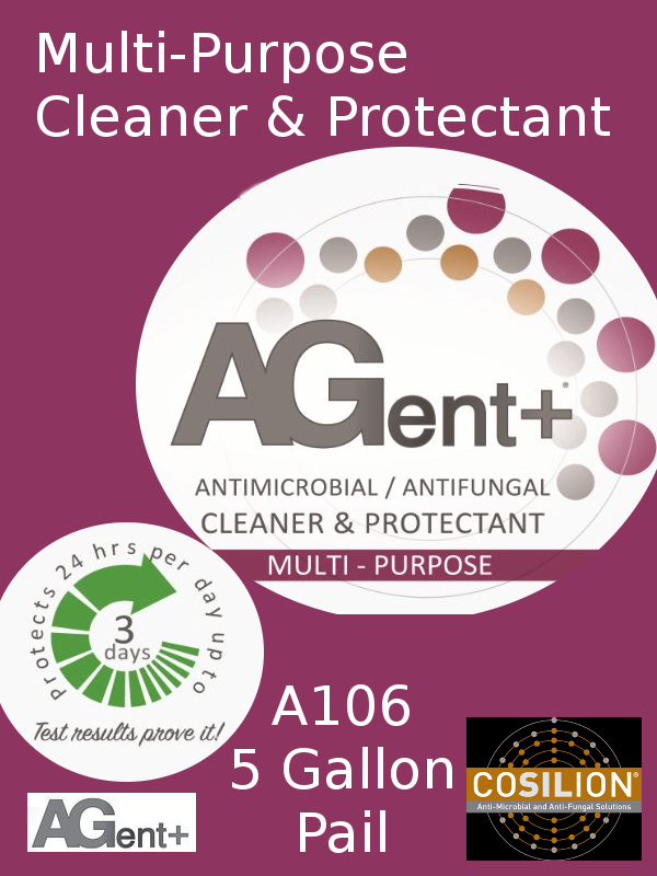 A106, AGent+ Multi-Purpose Cleaner & Protectant - One (1) Five (5) Gallon Pail