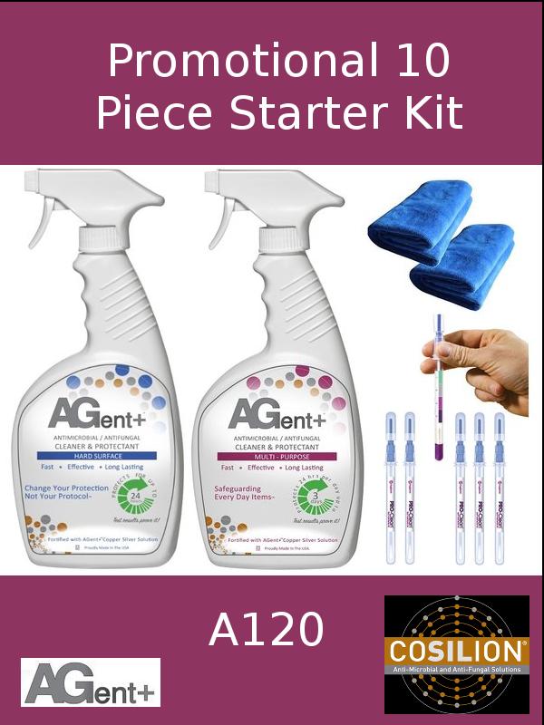 A120,  AGent+ Promotional 10 Piece Starter Kit