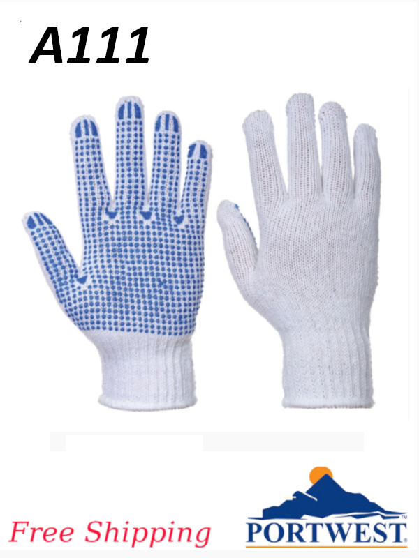 Portwest A111, Fortis Polka Dot Glove/FREE SHIPPING/$ per Pair