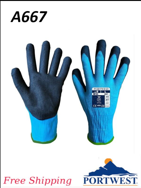 Portwest A667, Claymore AHR Cut Glove/FREE SHIPPING/$ per Pair
