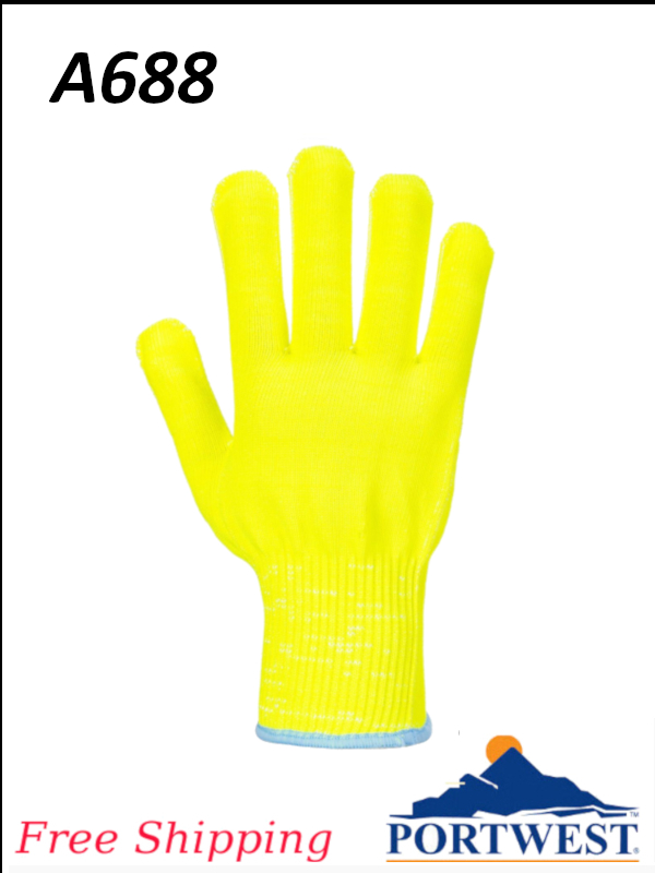 Portwest A688, Pro Cut Liner, ANSI Cut Level A4 Glove/FREE SHIPPING/$ per Pair