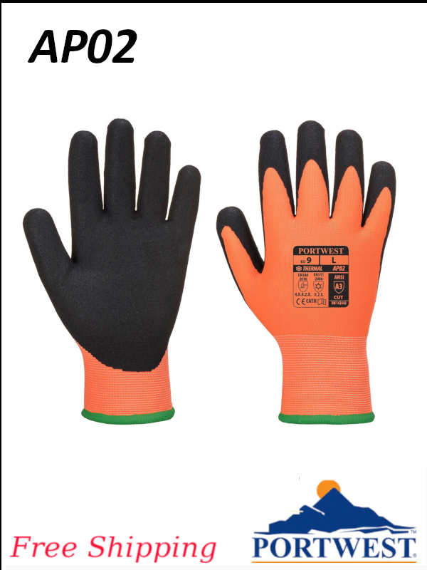 Portwest AP02, Thermal Pro Ultra Glove/FREE SHIPPING/$ per Pair