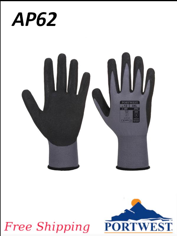 Portwest AP62, Dermiflex Aqua Glove/FREE SHIPPING/$ per Pair