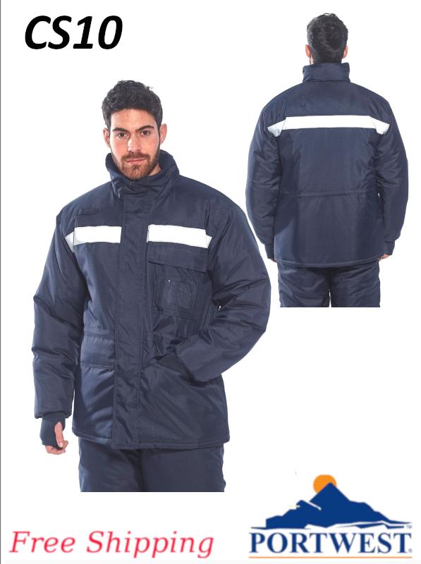 Portwest CS10, ColdStore Jacket/FREE SHIPPING/$ per Jacket