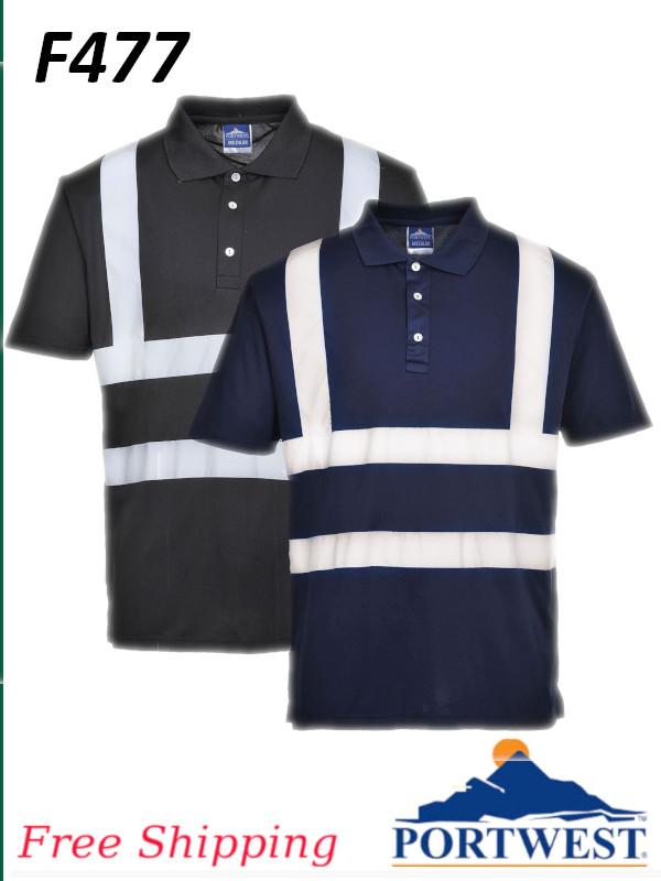 Portwest F477, Iona Poloshirt, Short Sleeve/FREE SHIPPING /$ per Shirt