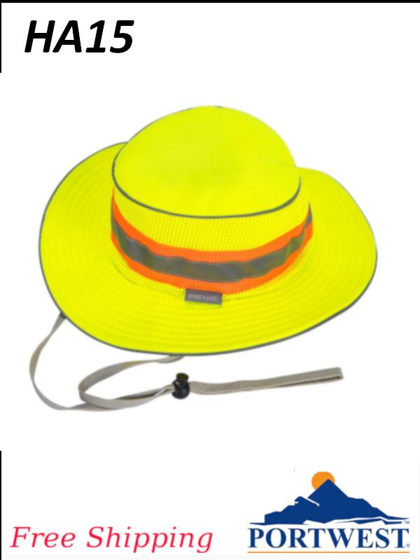 Portwest HA15, Hi Viz Ranger Hat/FREE SHIPPING/$ per Each