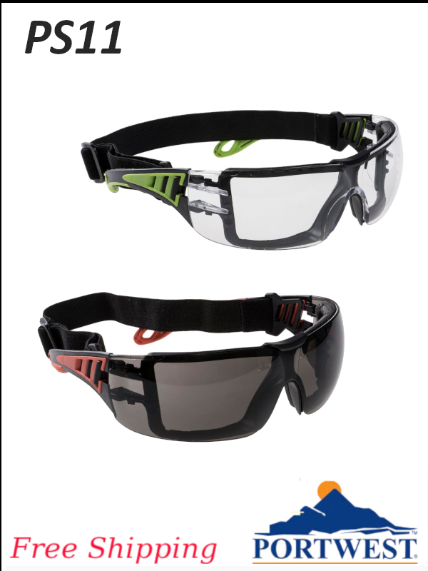 Portwest PS11, Tech Look Plus Dielectric Safety Glasses/FREE SHIPPING/$ per Each