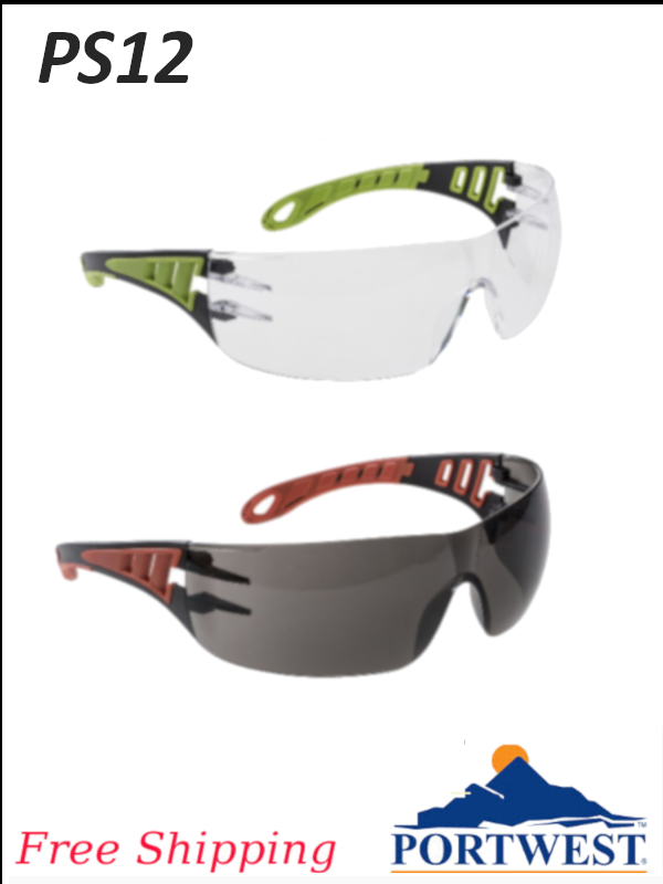 Portwest PS12, Tech Look Dielectric Safety Glasses/FREE SHIPPING/$ per Each