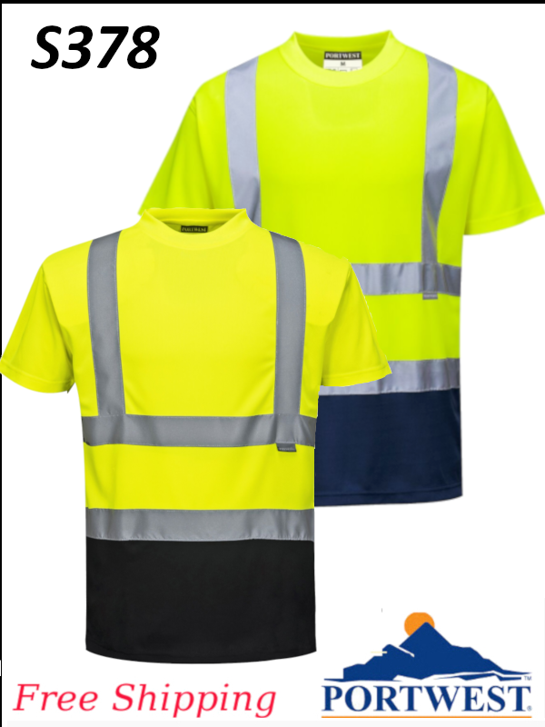 Portwest S378, Two Tone T-Shirt/SHIPPING INCLUDED/$ per Shirt