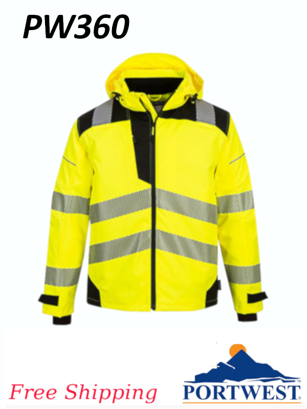 Portwest PW360, PW3 Extreme Breathable Rain Jacket/SHIPPING INCLUDED/$ per Jacket