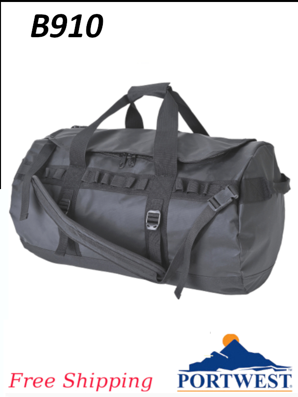 Portwest B910, Holdall, Duffle or Travel Bag, 70L/SHIPPING INCLUDED/$ per Each