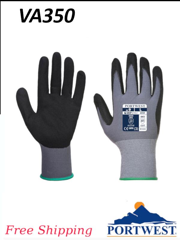 Portwest VA350, Vending Machine Ready, DermiFlex Gloves/Free Shipping/$ per Pair