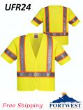 Portwest UFR24, Hi-Vis FR Mesh Vest, Class 3/SHIPPING INCLUDED/$ per Vest