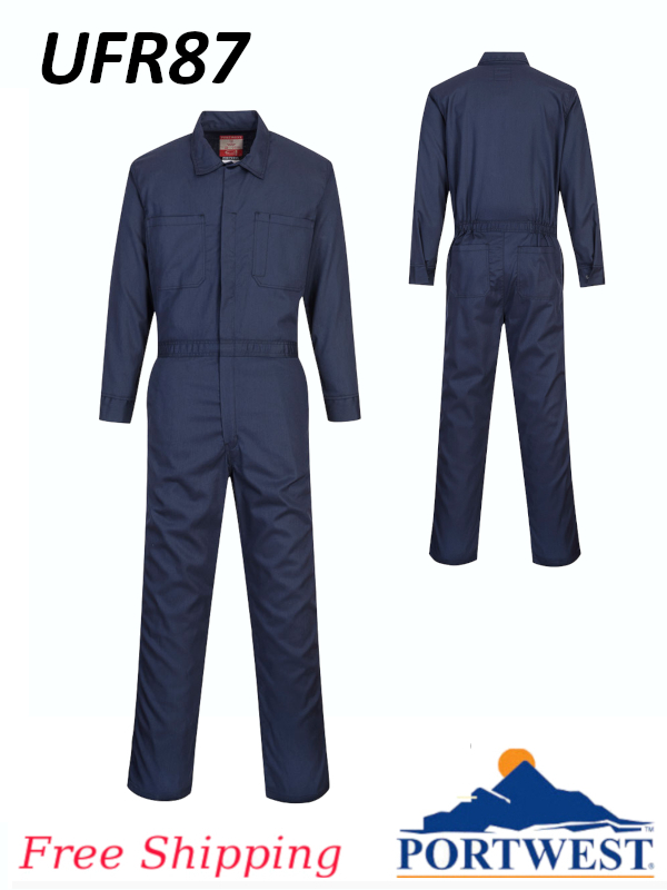 Portwest UFR87, Bizflame 88/12 Classic FR, Unlined Coverall/SHIPPING INCLUDED/$ per Coverall