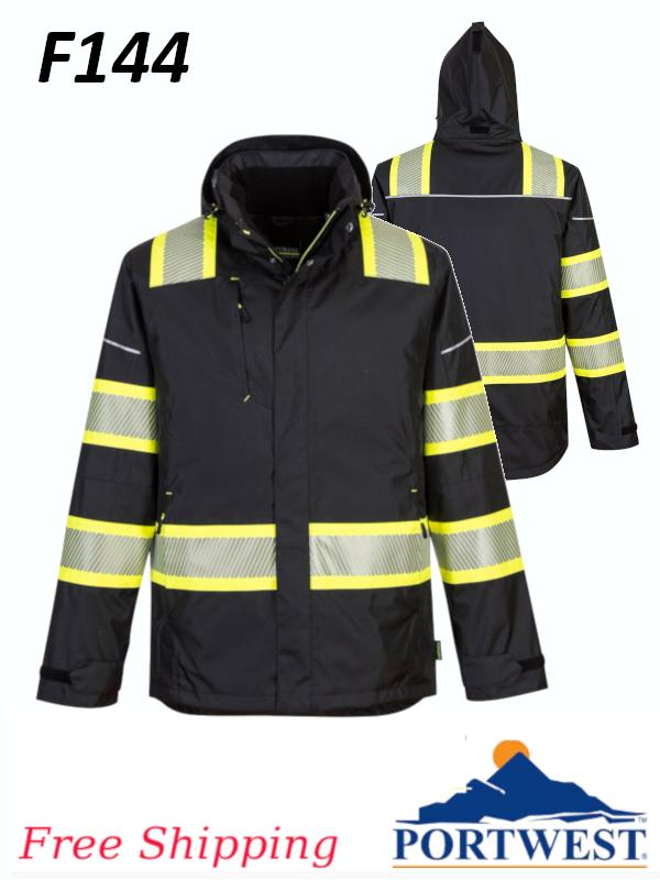 Portwest F144, Enhanced Visibility Iona Plus Winter Jacket/FREE SHIPPING/$ per Jacket