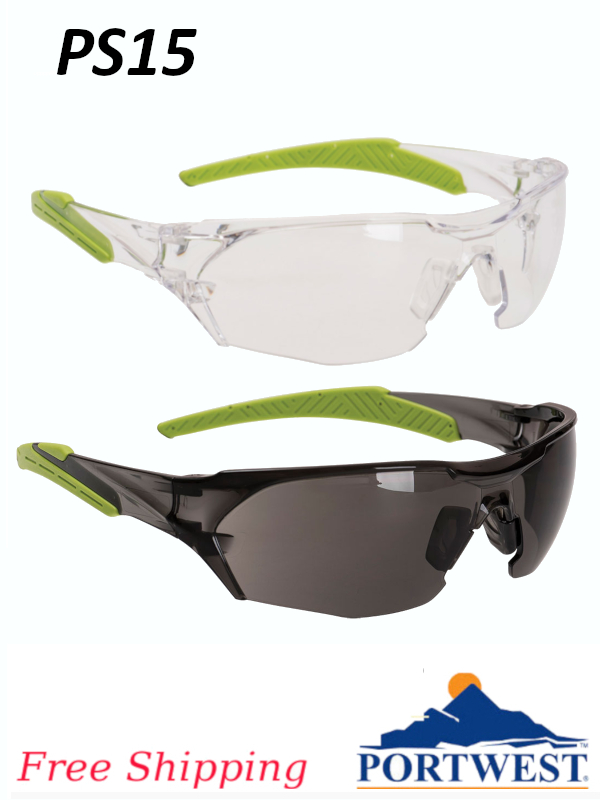 Portwest PS15, Performance Glasses/FREE SHIPPING/$ per Pair