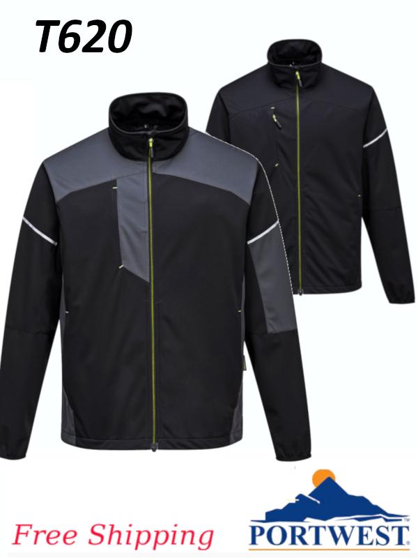 Portwest T620, PW3 Flex Shell Jacket/FREE SHIPPING/$ per Jacket