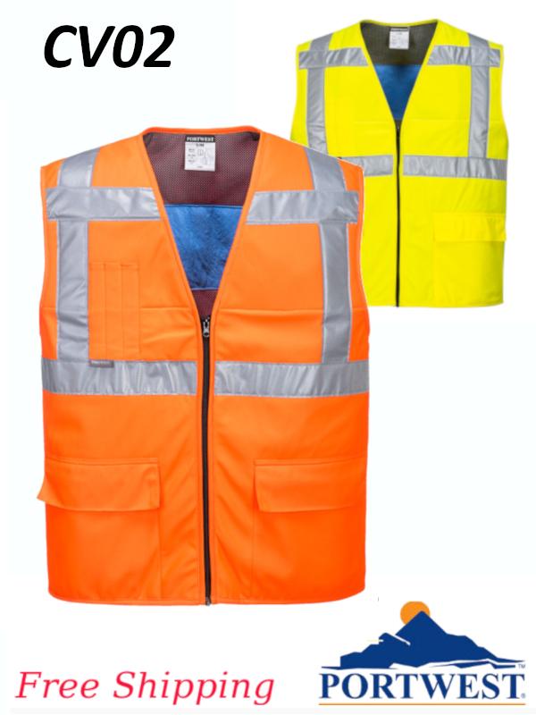 Portwest CV02, High Vis Cooling Vest/SHIPPING INCLUDED/$ per Vest