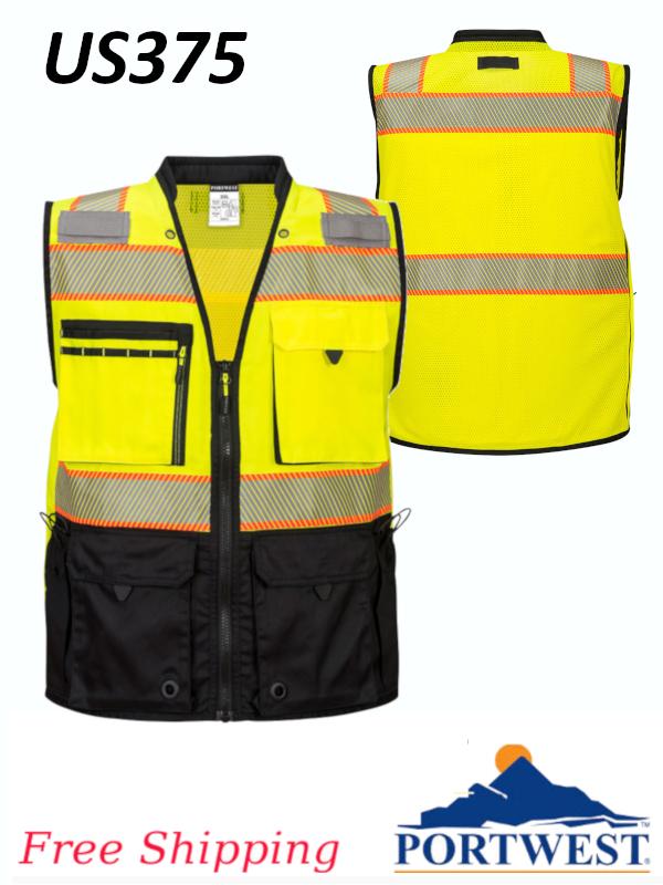 Portwest US375, Premium Surveyor Vest/SHIPPING INCLUDED/$ per Vest