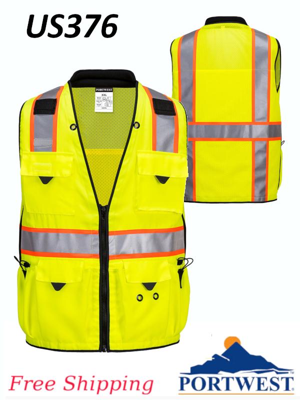 Portwest US376, Expert Pro Surveyor Vest/SHIPPING INCLUDED/$ per Vest