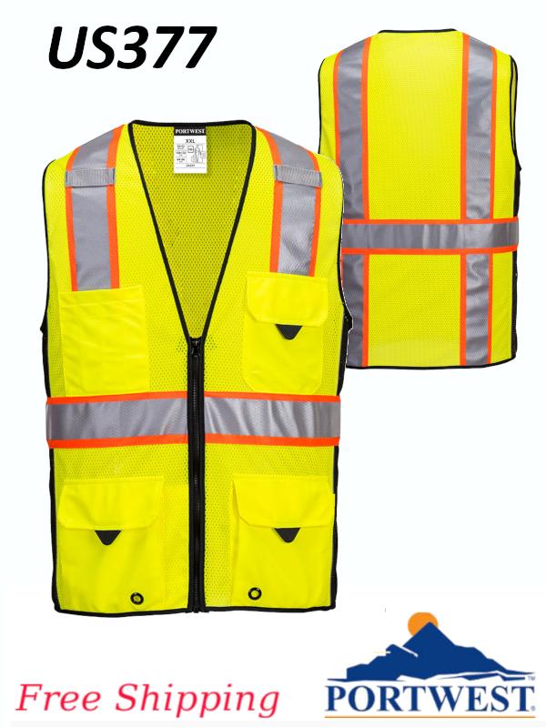 Portwest US377, Ultra Cool Surveyor Vest/SHIPPING INCLUDED/$ per Vest