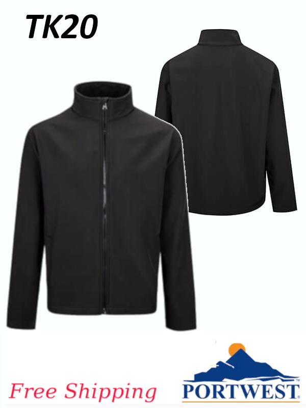 Portwest TK20, Print & Promo Softshell Jacket(2L)/FREE SHIPPING/$ per Jacket