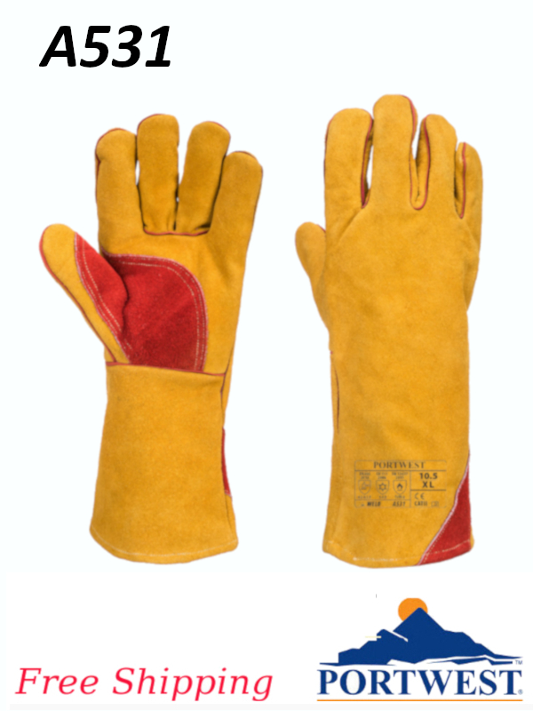 Portwest A531,  Reinforced Winter Welding Gauntlet/FREE SHIPPING/$ per Pair