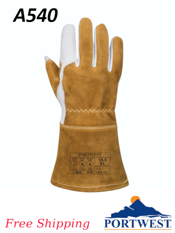 Portwest A540,  Ultra Welding Gauntlet/FREE SHIPPING/$ per Pair
