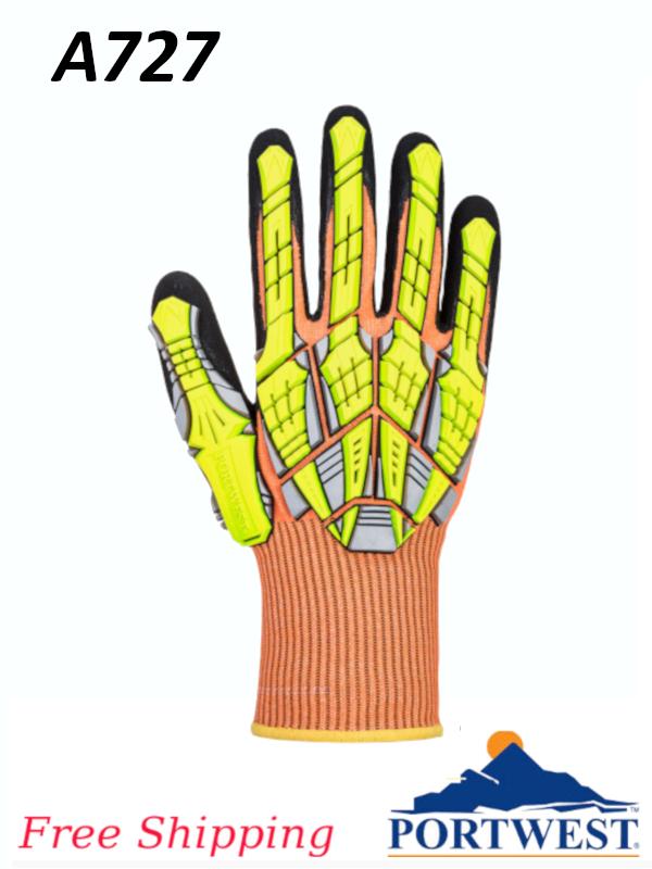 Portwest A727,  DX VHR Impact Glove/FREE SHIPPING/$ per Pair