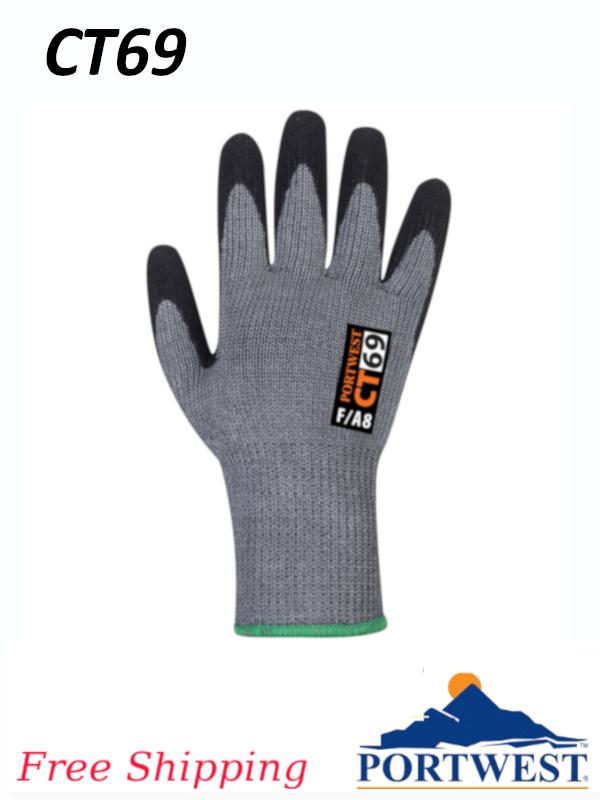 Portwest CT69,  CT AHR+ Nitrile Foam Glove/FREE SHIPPING/$ per Pair