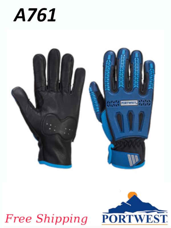 Portwest A761, Impact VHR Cut Glove/FREE SHIPPING/$ per Pair