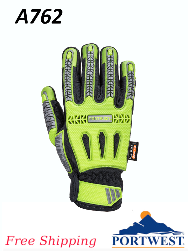 Portwest A762, R3 Impact Winter Glove/FREE SHIPPING/$ per Pair