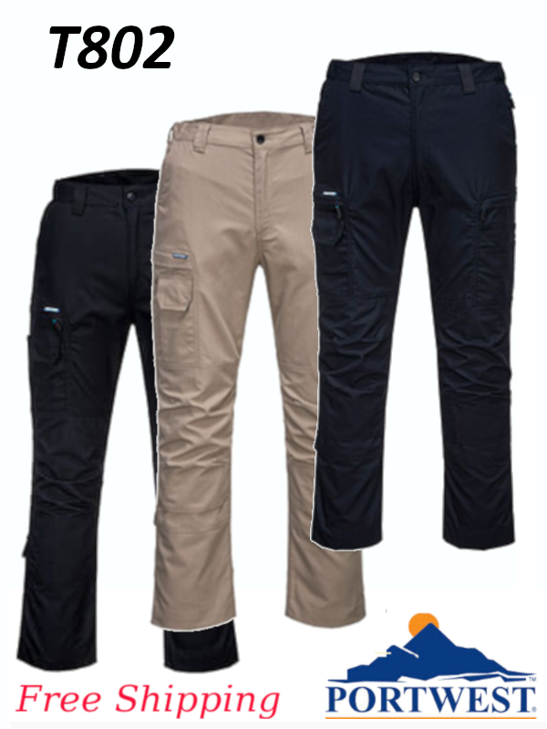 Portwest T802, KX3 Ripstop Stretch Pants/FREE SHIPPING