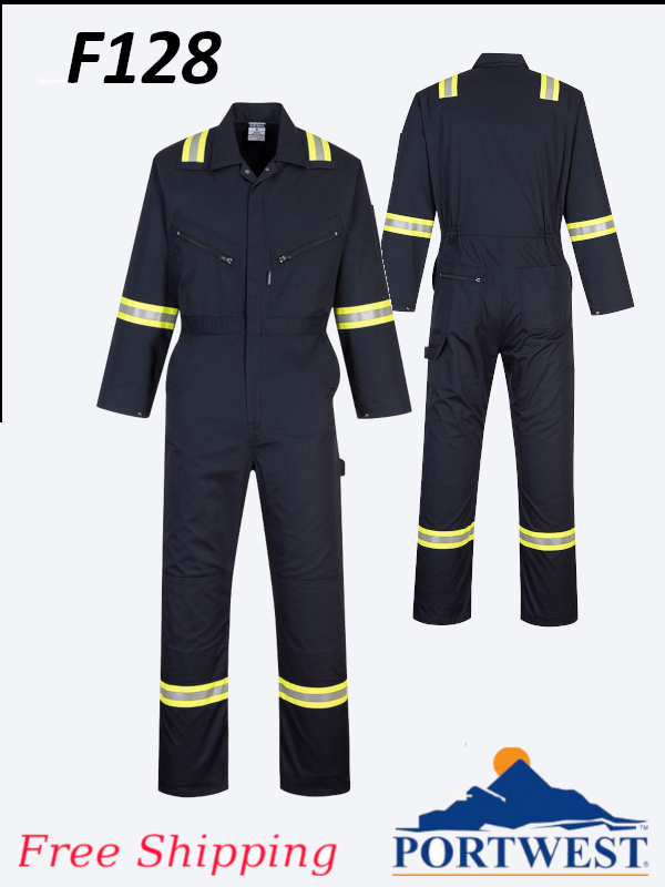 Portwest F128, Iona Extra Coverall/FREE SHIPPING/$ per Coverall